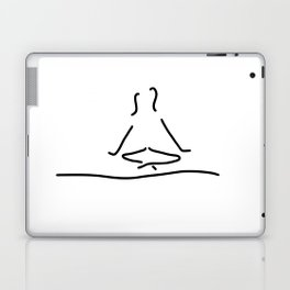 yoga joga meditation Laptop & iPad Skin