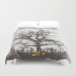 The alchemy of the tree Duvet Cover