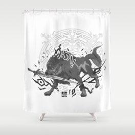 Wolflink Shower Curtain