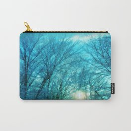 Landscape ~ Winter sunset Carry-All Pouch