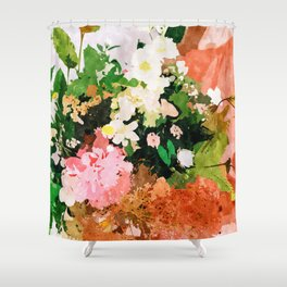 Floral Gift    Shower Curtain