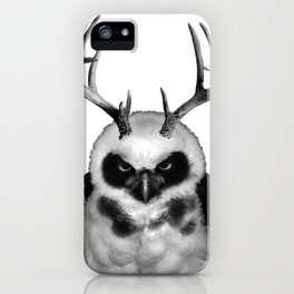 Hector the Horned Owl iPhone Case