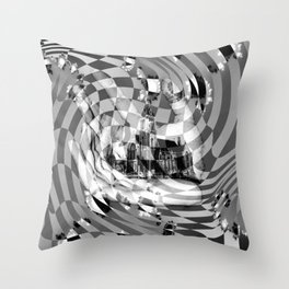 Orders of simplicity series: Order we create Throw Pillow