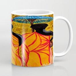 The Walking Monks-the Path To Devotion Coffee Mug