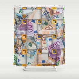 Economic relationship light ... Shower Curtain