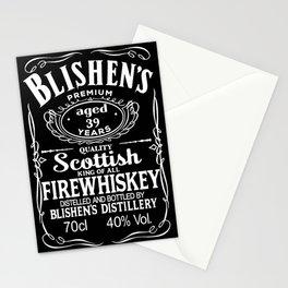 Blishen's Firewhiskey Stationery Cards