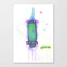 Drip Boards: Mermaid Scales Canvas Print