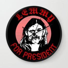 Lemmy 4 Prez Wall Clock