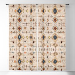N250 - Oriental Heritage Berber Traditional Moroccan Style Blackout Curtain