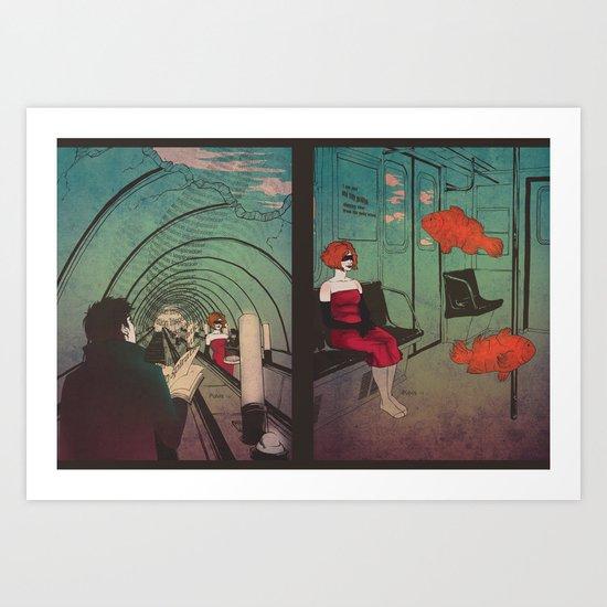 Good-bye, Inspiration Art Print