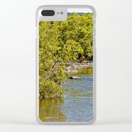 Beautiful river in the tropics Clear iPhone Case