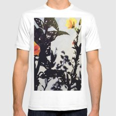 Leading Leaves Mens Fitted Tee White MEDIUM