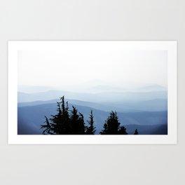 Mt. Hood's View Art Print