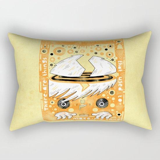 Fat Berts window Rectangular Pillow