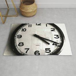Four Nineteen Clock Rug