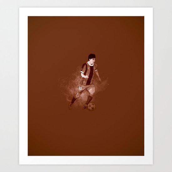 Leo Messi Art Print