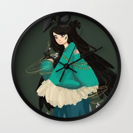 Kleptowitch Wall Clock