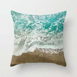 Soothing Sea Throw Pillow