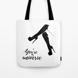 My universe heels Tote Bag