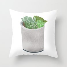 Cactus Plant II Throw Pillow