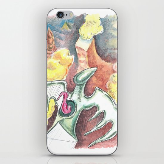 Flying towards nowhere iPhone & iPod Skin