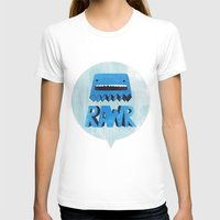 returns T-shirts featuring Rawr Returns! by mrbiscuit