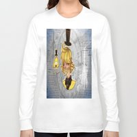 bill cipher Long Sleeve T-shirts featuring Bill Cipher by InsianCat