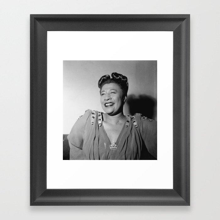 Ella Fitzgerald Framed Art Print