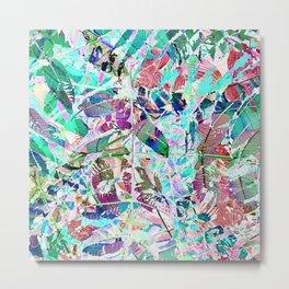 Abstract Multi-coloured Garden 730 Metal Print