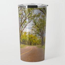 Cottonwoods, Theodore Roosevelt NP, ND 4 Travel Mug