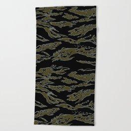 Tiger Camo Beach Towel