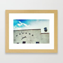 Gruene Hall Texas Framed Art Print