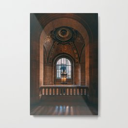 NYPL Architectural 02 Metal Print