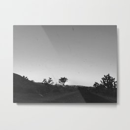 JOSHUA TREE XI (B+W) Metal Print