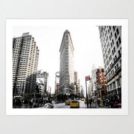 Desaturated New York Art Print