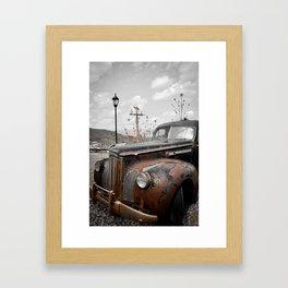 Jerome Car Framed Art Print