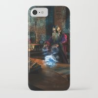 wizard iPhone & iPod Cases featuring Wizard by Digital Dreams