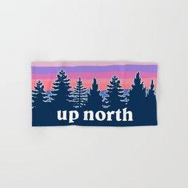 up north, pink hues Hand & Bath Towel