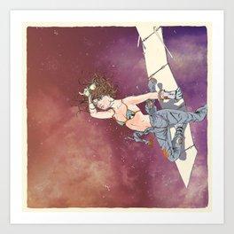 Bodies in Space: Sunburn Art Print