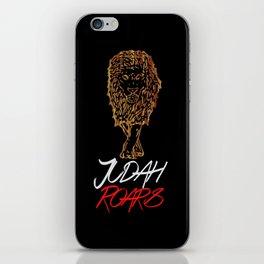 Judah Roars Logo iPhone Skin