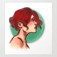 Lucie Art Print