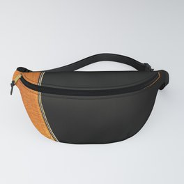 Acoustic Guitar Abstract Curve no 3. Fanny Pack