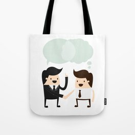 Closing In On A Deal Tote Bag