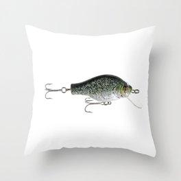 Fishing Tackle 5 Throw Pillow
