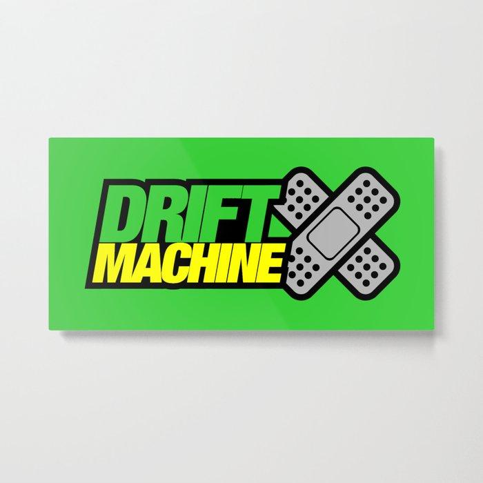 Drift Machine v3 HQvector Metal Print
