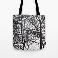 sansa stark Tote Bags featuring Stark by MLauxDesign