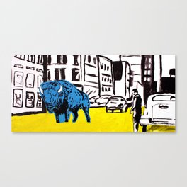 """American Buffalo"" Canvas Print"