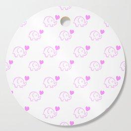 Elephant Love Cutting Board