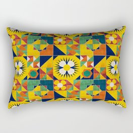 Spanish tiles Rectangular Pillow