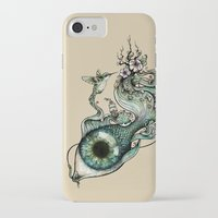 inspiration iPhone & iPod Cases featuring Flowing Inspiration by Enkel Dika